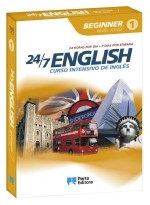 24/7 English - Curso Intensivo de Inglês - Beginner - Nível A1/A2 - CD-ROM