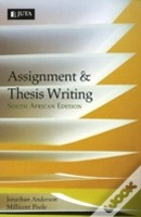 thesis writing by anderson