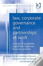 Law, Corporate Governance And Partnerships At Work
