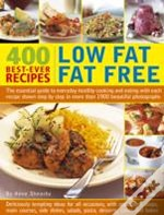 400 Low Fat Fat Free Best-Ever Recipes