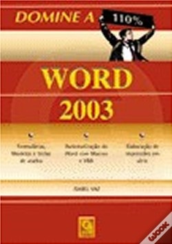 Wook.pt - Word 2003 - Domine a 110%