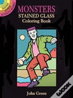 Monsters Stained Glass Colouring Book