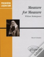 Premiere Lecon Sur Measure For Measure William Shakespeare