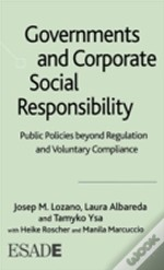 Governments And Corporate Social Responsibility