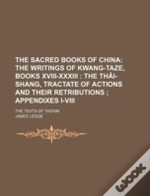 The Sacred Books Of China (39); The Text