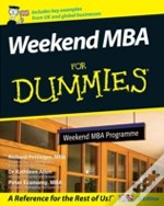 Weekend Mba For Dummies