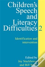 Children'S Speech And Literacy Difficultiesidentification And Intervention
