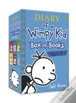 Diary Of A Wimpy Kid:Box Of Books