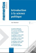 Introduction A La Science Politique - 10e Edition