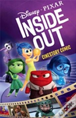 Disney Pixar Inside Out Cinestory Comic
