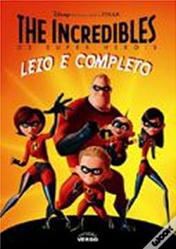 Wook.pt - The Incredibles - Os Super Heróis