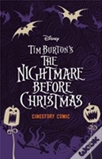 Disney Tim Burton'S The Nigtmare Before Christmas Cinestory Comic Collector'S Edition