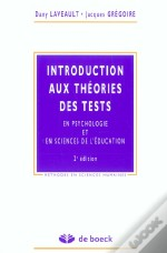 Introduction Aux Theories Des Tests En Psychologie Et En Education ; 2e Edition