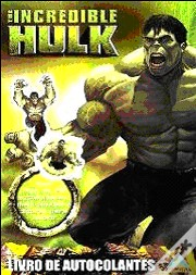 The Incredible Hulk - Livro de Autocolantes