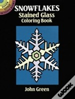 Snowflakes Stained Glass Colouring Book