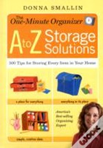 One-Minute Organiser A To Z Storage Solutions