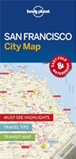 Lonely Planet San Francisco City Map