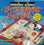 Blood, Bones And Body Bits Shuffle Puzzle Book