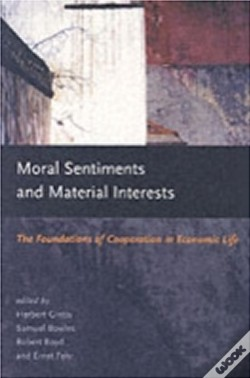 Wook.pt - Moral Sentiments And Material Interests