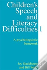 Children'S Speech And Literacy Difficultiespsycholinguistic Framework