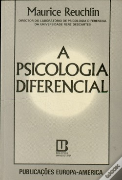 Wook.pt - A Psicologia Diferencial
