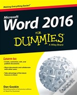 Word X For Dummies