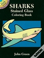 Sharks Stained Glass Coloring Book