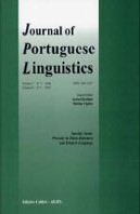 Journal of Portuguese Linguistics