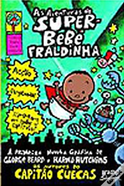 Wook.pt - As Aventuras do Super-Bebé Fraldinha