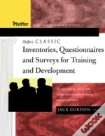 Pfeiffer'S Classic Inventories, Questionnaires, And Surveys For Training And Development