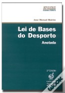 Lei de Bases do Desporto - Anotada