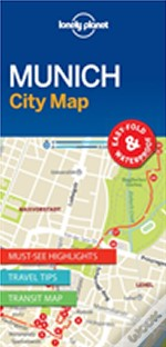 Lonely Planet Munich City Map