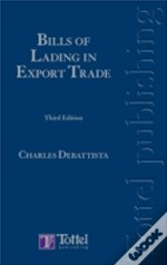Debattista - Bills Of Lading In Export Trade