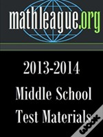 Middle School Test Materials 2013-2014