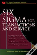 Six Sigma For Transactions And Service