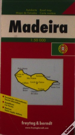 Wook.pt - Madeira Road Map