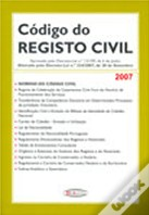 Código do Registo Civil - 2007
