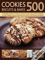 500 Cookies, Biscuits And Bakes
