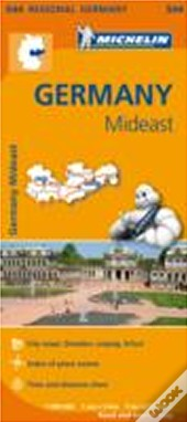 Michelin Mapa Regional Germany Mideast