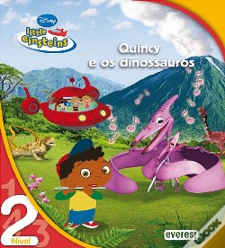 Wook.pt - Little Einsteins - Quincy e os Dinossauros - Nível 2