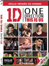 One Direction: This is Us - Edição Especial com Postais (DVD-Vídeo)