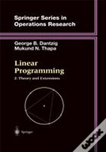 Linear Programmingtheory And Extensions
