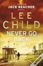 Never Go Back Signed Edition