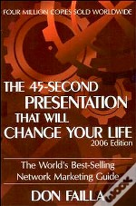 The 45-Second Presentation That Will Change Your Life