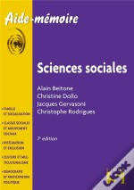 Sciences Sociales (7e Édition)