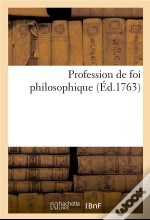 Profession De Foi Philosophique